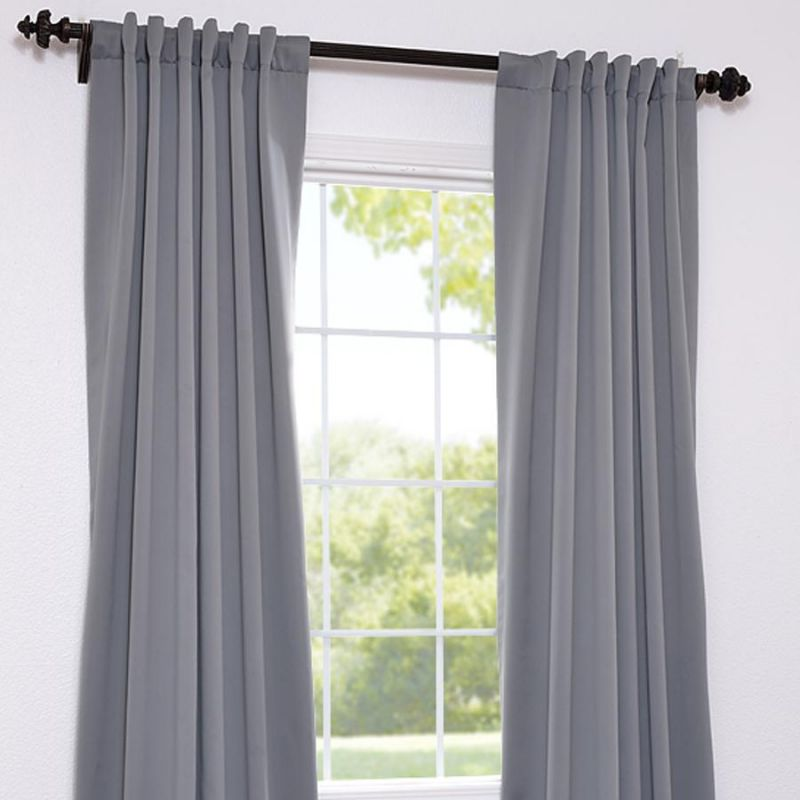 800x800px 7 Good Grey Blackout Curtains Picture in Others