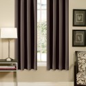 Brown Grommet , 8 Ideal Thermal Window Curtains In Others Category