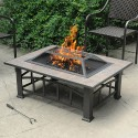 Brownish Bronze , 6 Ultimate Rectangular Fire Pit In Others Category