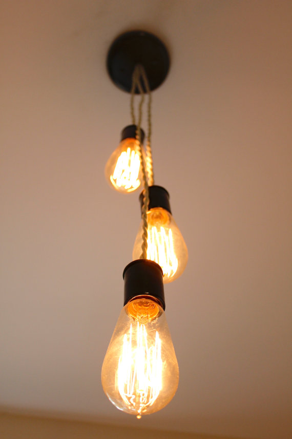 Lightning , 7 Fabulous Edison Light Bulb Fixtures : Bulb Light Fixture