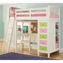 Bunk Bed with Closet Underneath , 8 Excellent Loft Bed With Closet Underneath In Bedroom Category