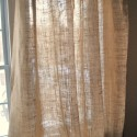 Burlap Curtain Panel with Grommets , 8 Hottest Burlap Curtain Panels In Others Category
