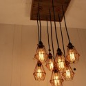 Cage Light Chandelier , 7 Awesome Edison Bulb Chandelier In Lightning Category