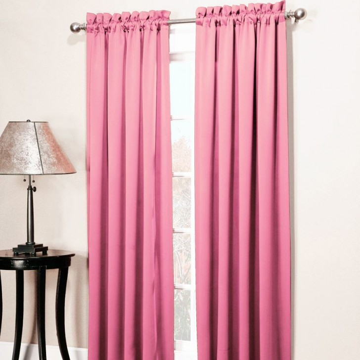 Interior Design , 8 Superb Room Darkening Curtains : Carly Room Darkening Curtain Panel