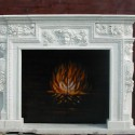 Carved Stone Fireplace Surrounds , 7 Cool Marble Fireplace Surrounds In Others Category