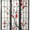 Cherry Blossom Shoji Screen , 7 Fabulous Shoji Screen In Apartment Category