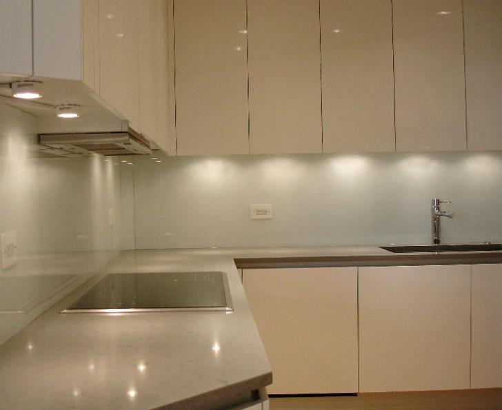 Kitchen , 8 Good Back Painted Glass Backsplash : Chicago Backpainted Backsplashes