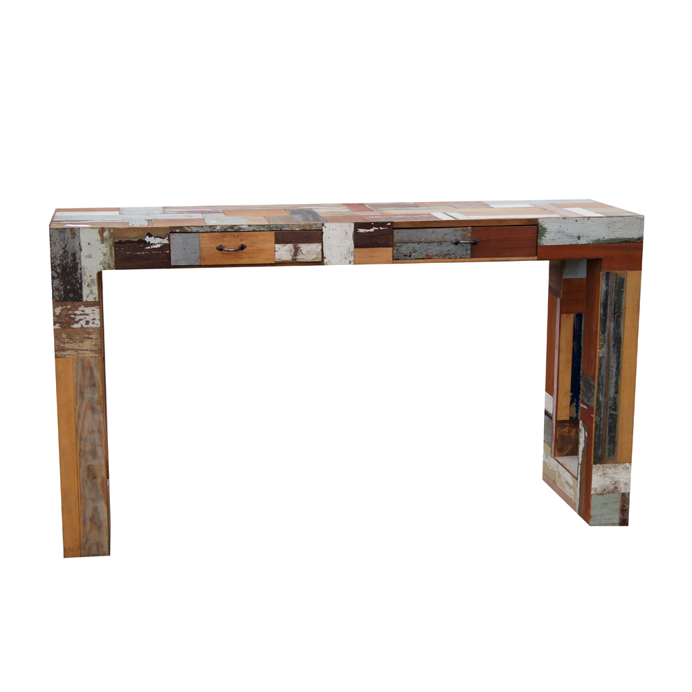 Console Parsons Style Table 7 Ideal Reclaimed Wood