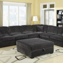 Contemporary Charcoal Grey , 7 Cool Oversized Sectional Sofas In Furniture Category