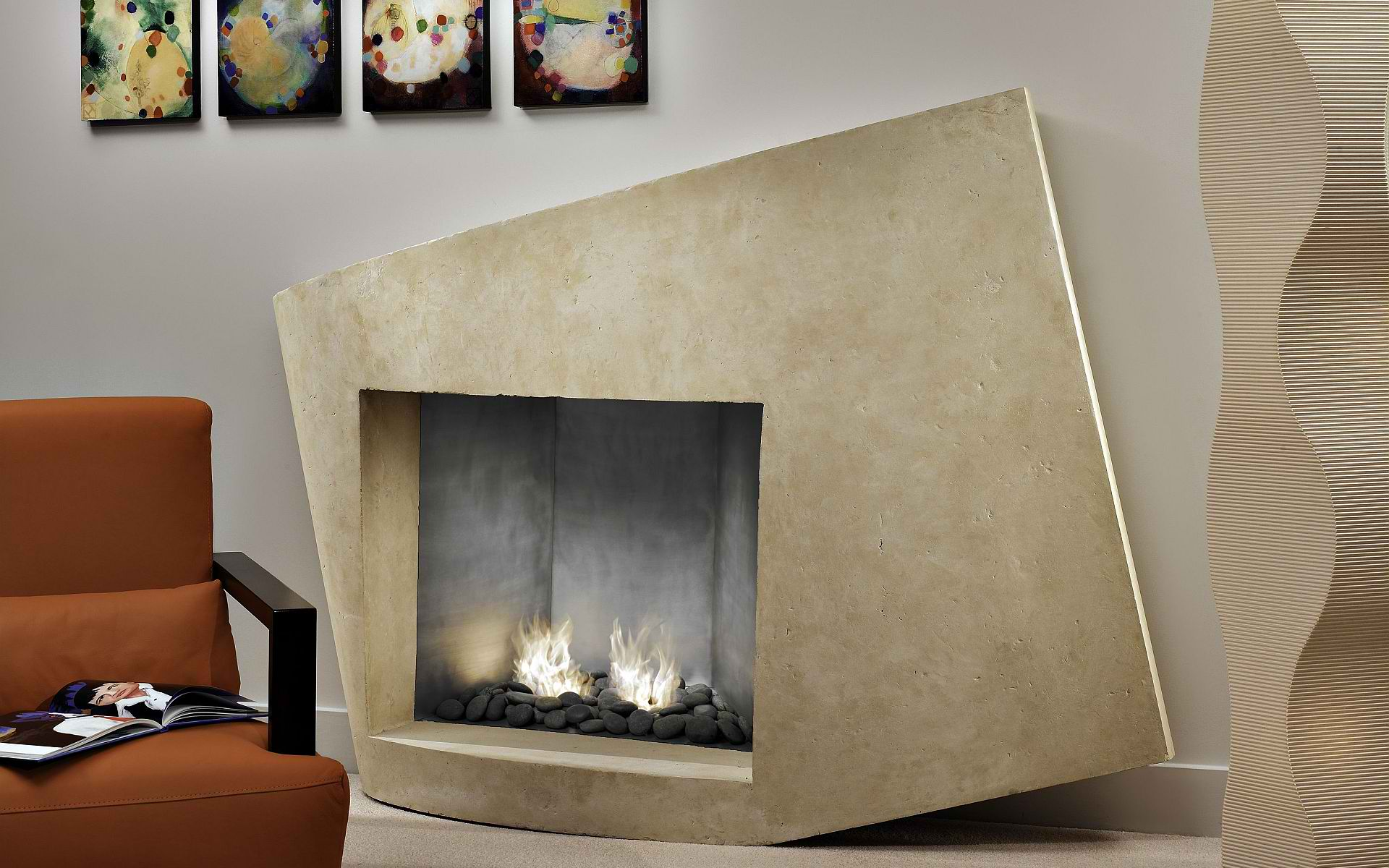 1920x1200px 7 Awesome Contemporary Fireplace Mantels Picture in Others