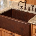 Copper Kitchen Farmhouse Sinks , 7 Awesome Copper Farmhouse Sink In Kitchen Appliances Category