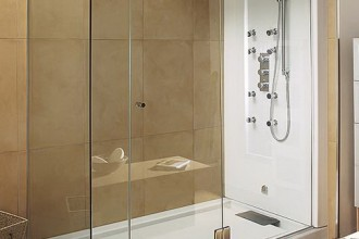 486x646px 4 Superb Corner Shower Stalls Picture in Bathroom