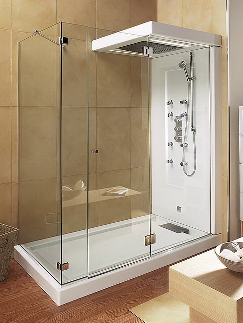 Bathroom , 4 Superb Corner Shower Stalls : Corner Shower Stalls