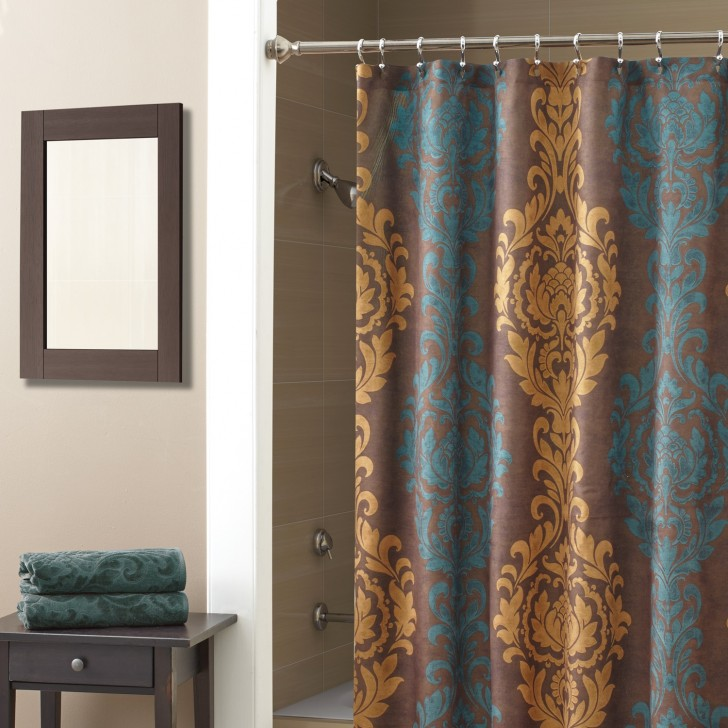 Others , 6 Top Croscill Curtains : Croscill Correge Shower Curtain