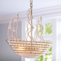 Crystal Pirate Ship Chandelier , 8 Stunning Pirate Ship Chandelier In Lightning Category