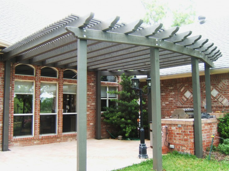 Homes , 8 Unique Curved Pergola : Curved Pergola