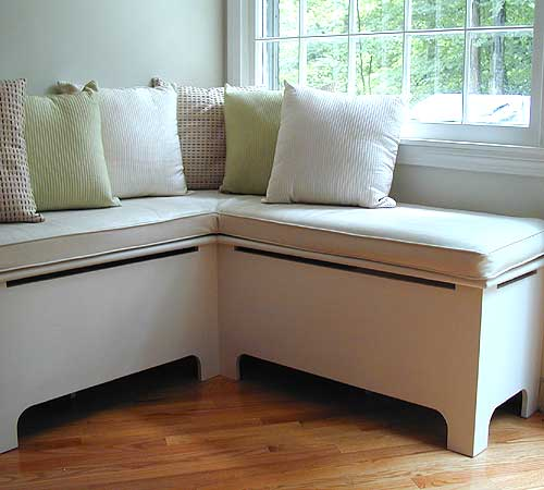 Interior Design , 7 Gorgeous Corner Banquette Seating : Custom Banquette or Window Seat