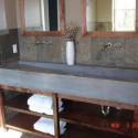 Custom Concrete Trough Sink , 7 Charming Trough Sink Bathroom In Bathroom Category