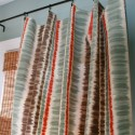 Custom Ikat Stripe Curtain Panels , 8 Brilliant Ikat Curtains In Interior Design Category