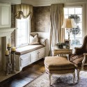 Custom Window Treatments traditional bedroom , 8 Gorgeous Victorian Window Treatments In Interior Design Category