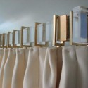 DIY Acrylic curtain rod source , 7 Stunning Lucite Curtain Rods In Others Category