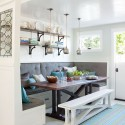 DIY banquette seating , 8 Awesome Kitchen Banquette Seating In Dining Room Category