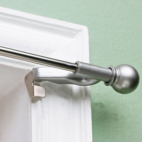 Others , 8 Gorgeoous Discount Curtain Rods : Decorative Curtain Rod