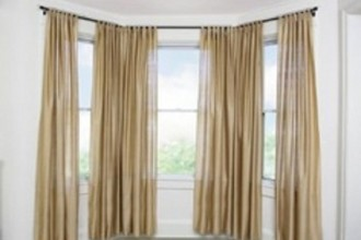 655x499px 7 Stunning Curtain Rods For Bay Windows Picture in Others