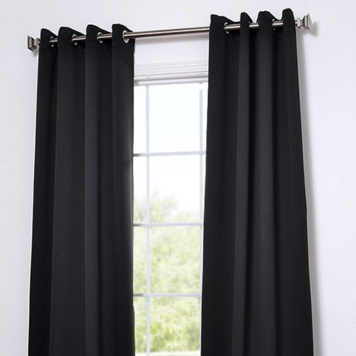 Others , 8 Gorgeous Grommet Blackout Curtains : Designer Blackout Curtain Panel