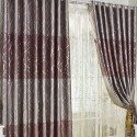 Discount Jacquard Chocolate Curtains , 7 Charming Cheap Curtain Panels In Others Category