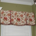 Draperies with valances , 7 Charming Valences In Furniture Category