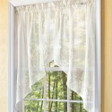 Embroidered Hydrangea Sheer Curtain , 7 Best Embroidered Sheer Curtains In Others Category