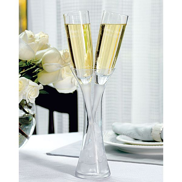 Others , 7 Unique Champagne Flutes : Enchantment Personalized Toasting Flutes