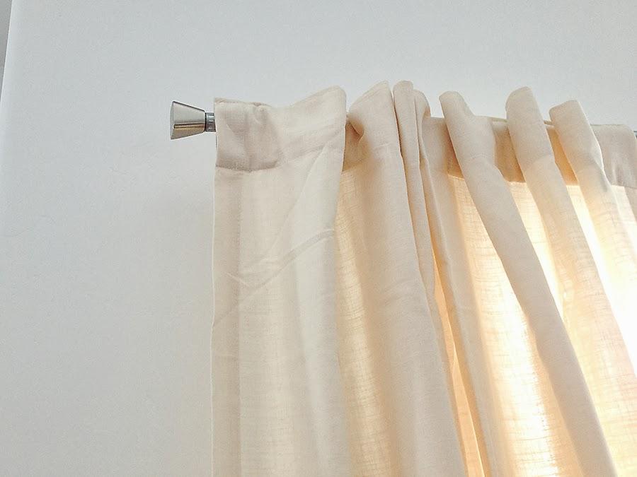 Extra long double curtain rod