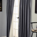 Faux Silk Dupioni Curtain , 8 Charming Thermal Curtain Panels In Others Category