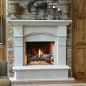 Fireplace Surrounds , 7 Carming Stone Fireplace Surrounds In Others Category