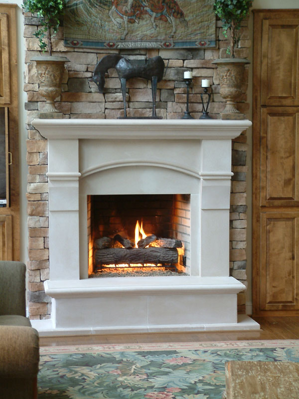 600x800px 7 Carming Stone Fireplace Surrounds Picture in Others