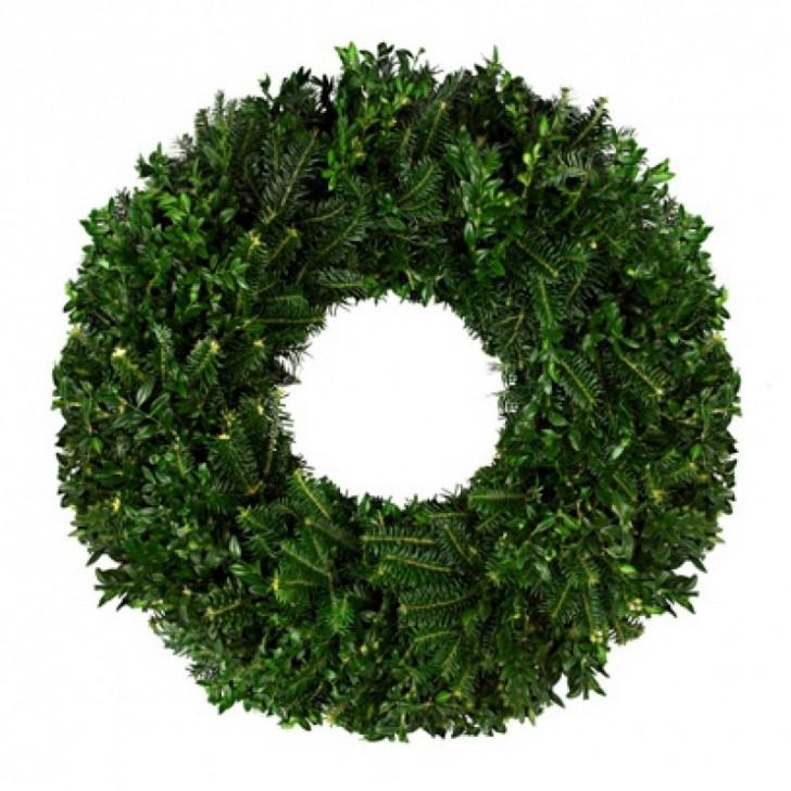 Others , 7 Nice Boxwood Wreath : Fraser Fir Boxwood Wreath