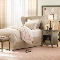 French Wing Headboard , 8 Amazing Winged Headboard In Bedroom Category
