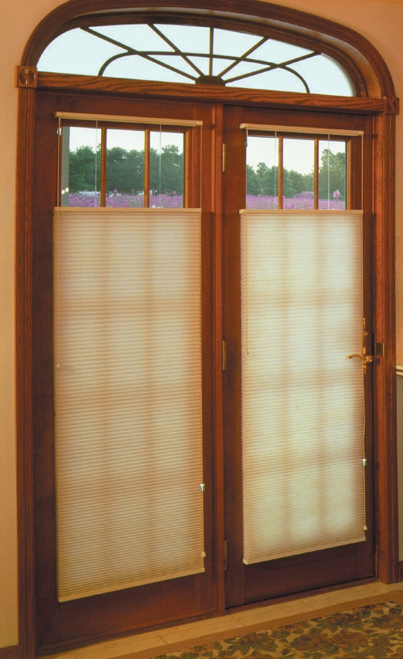 Interior Design , 8 Hottest Window Coverings For French Doors : French doors cellular shades