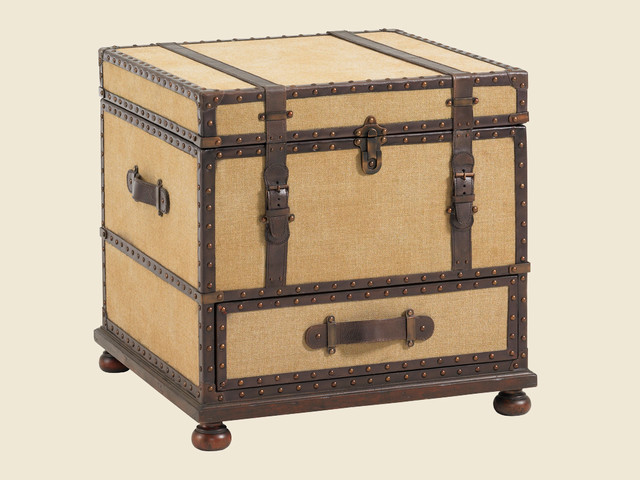 Furniture , 6 Nice Trunk Nightstand : Gunnison Trunk Table