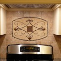 Handmade Backsplash Medallions , 7 Cool Backsplash Medallions In Kitchen Category
