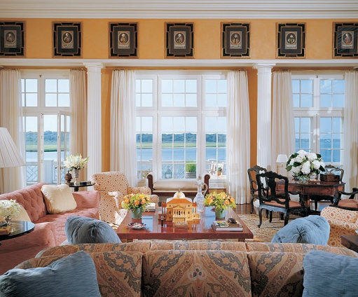 Others , 8 Gorgeous Bay Window Curtain Ideas : Hang Curtains For Bay Windows