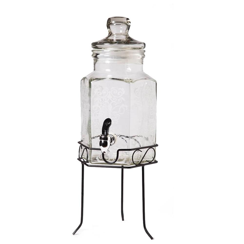 1000x1000px 7 Gorgeous Glass Beverage Dispenser With Metal Spigot Picture in Others