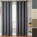 Others , 6 Best Grommet curtain panels : Home Euro Linen Grommet Curtain Panel