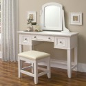 Home Naples Vanity Table , 7 Hottest Mirrored Vanity Table In Furniture Category