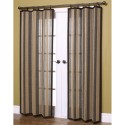 Home Woven Stripe Bamboo , 8 Nice Striped Curtain Panels In Others Category