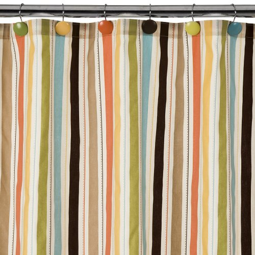 Others , 8 Stunning Striped Shower Curtain : Home striped shower curtain