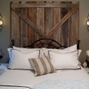 Homemade Headboard , 7 Stunning Handmade Headboards In Bedroom Category