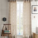 Ikat Ogee Linen Curtain , 8 Brilliant Ikat Curtains In Interior Design Category